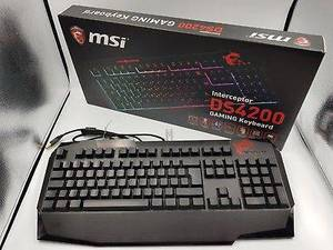 CLAVIER GAMING MSI INTERCEPTOR DS4200 LUMONEUX